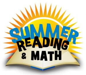 summer reading and math image