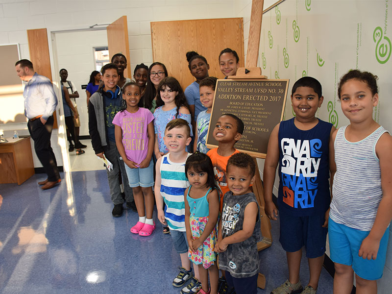 Clear Stream Avenue School unveils new learning space photo
