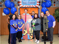 "Families Receive a Superhero-Sized ""Taste"" of District Services photo"
