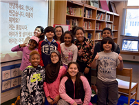 Forest Road Students Embrace Korean Culture Photo
