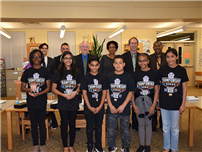 Valley Stream 30 Board Meeting Recognizes Math Marvels Photo