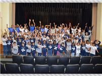 Shaw Avenue School Shows Their Spirit photo
