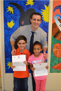 Forest Road Students Honored in PTA Reflections Program Photo 2