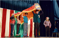 Students Celebrating the Chinese New Year