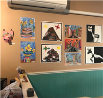 Student Artwork Showcased at Local Coffee Shop Photo 2