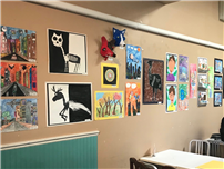 Student Artwork Showcased at Local Coffee Shop Photo 1 thumbnail92893