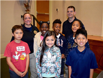 Officers Inspire Students to Be Responsible Digital Citizens Photo 1
