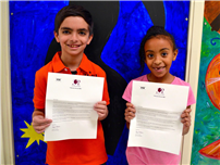 Forest Road Students Honored in PTA Reflections Program Photo 1