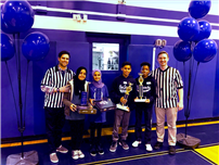 Photo of Math Hoops winners