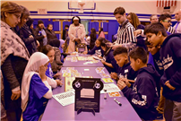 Photo of students playing game